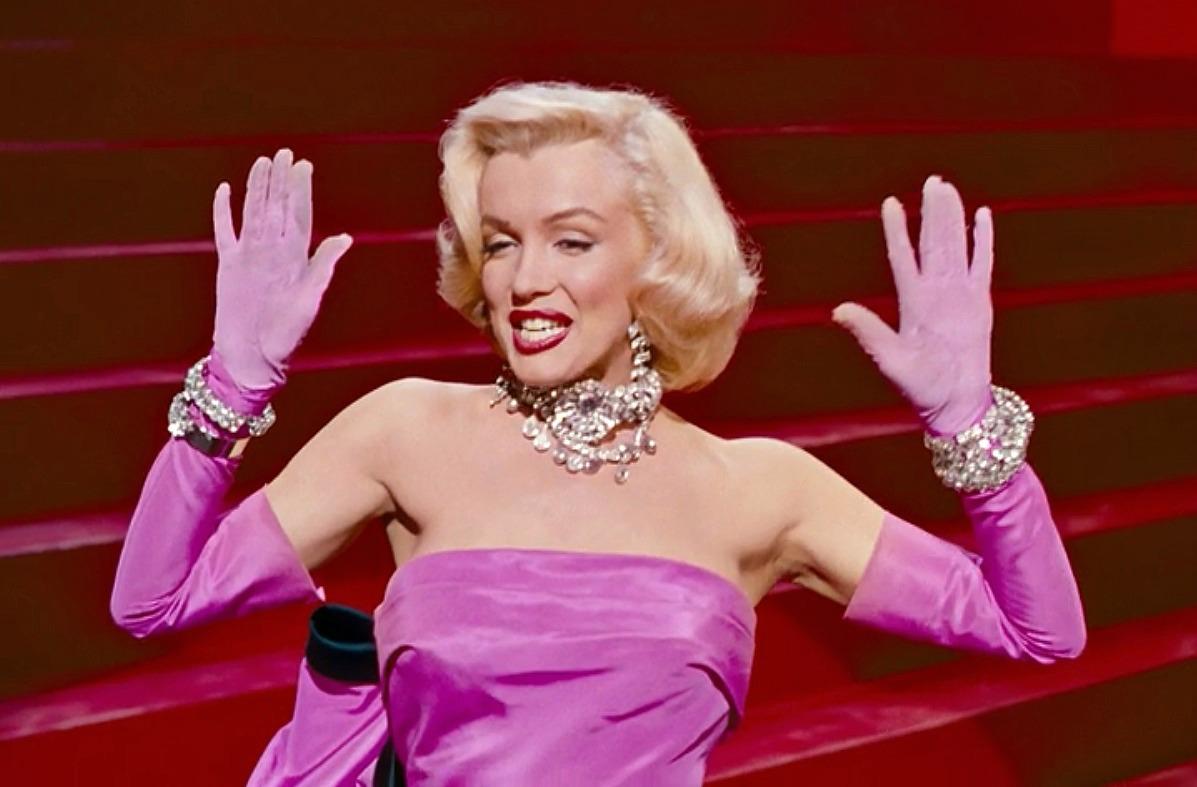 marilyn monroe opera gloves